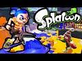 Splatoon Wii U Octobrush VS Ink Brush! Weapon Tips & Strategy Octo Kraken Online Gameplay HD PART 30
