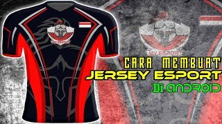 cara membuat jersey esport di android #TUTORIAL PIXELLAB | part 4