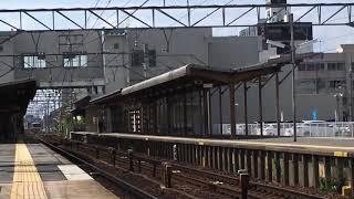 [出場試運転‼️]名鉄小牧線300系 311f(試運転本宿行き)新安城駅 通過‼️