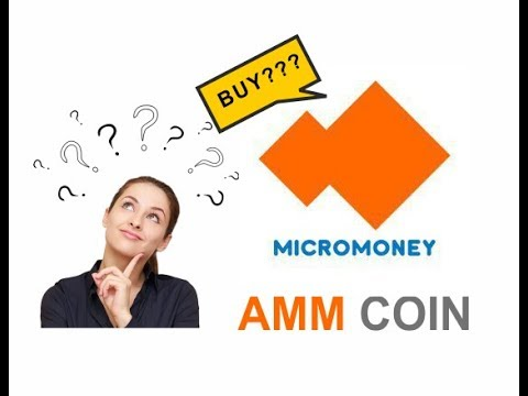 Micromoney (AMM) coin token ico invest,  AMM coin