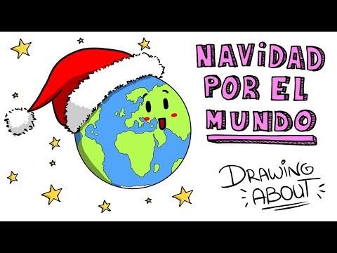 NAVIDAD POR EL MUNDO 🌏🌎🌍 | Draw My Life
