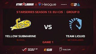 Liquid vs YES, StarSeries 13 EU+CIS, Game 1