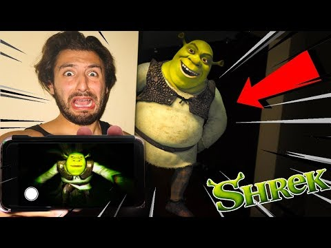 (SHREK CAME TO MY HOUSE!) DONT PLAY SHREK HORROR GAME AT 3AM OR SHREK WILL APPEAR | SUMMONING SHREK!