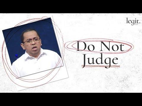 Legit - Do Not Judge - Bong Saquing