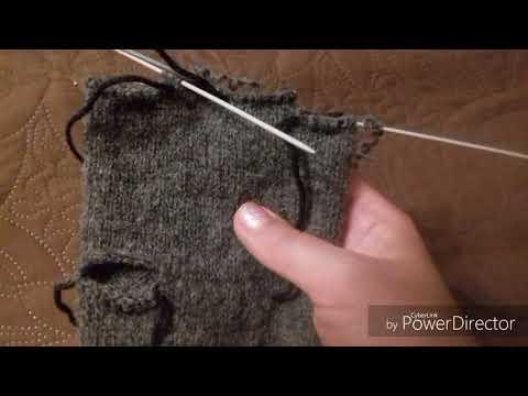 Вопрос: Как связать перчатки идеального размера?