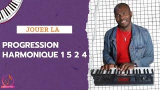 Apprendre le piano gospel : Progression harmonique 1 5 2 4