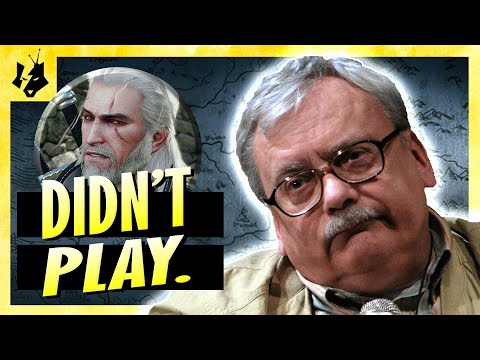 """Andrzej Sapkowski on """"The Witcher"""" games [ENG SUBS]"""