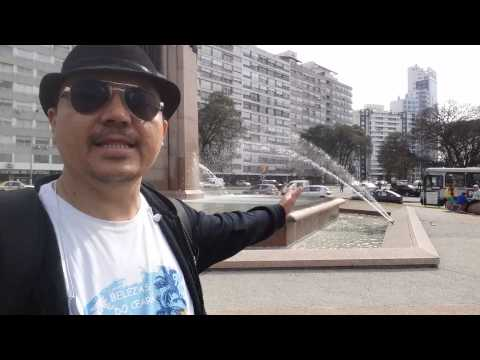 Tur obelisco - Montevideo Uruguay