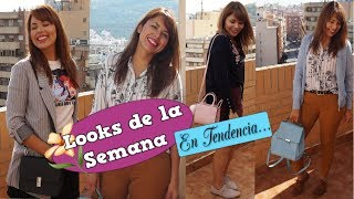 5 DÍAS 5 LOOKS/ OUTFITS / WHAT I WORE THIS WEEK/ OCTUBRE 3/ DaY_BB