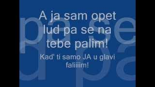 Toše Proeski -Ledena-(sa textom na ekranu)