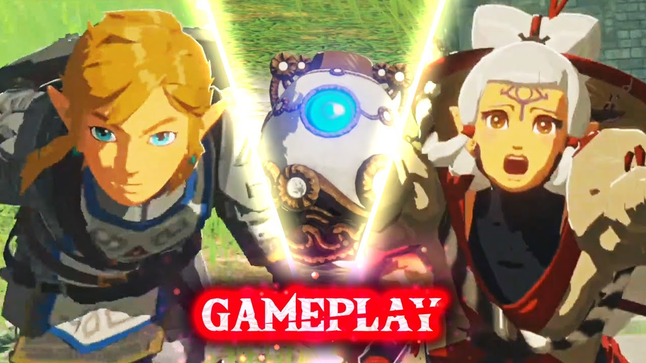 Hyrule Warriors Age Of Calamity Gameplay Link Impa Youtube