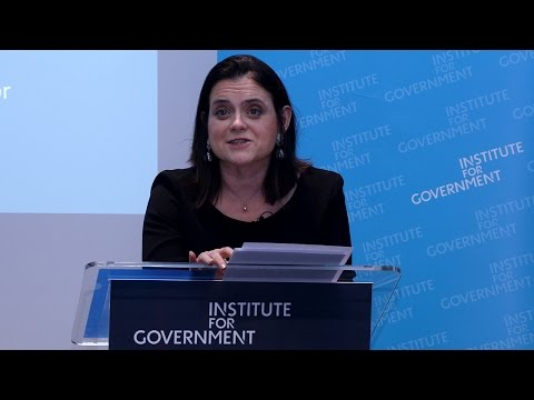 IfG Director's Lecture: Modern government for a divided country