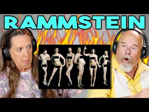 ELDERS REACT TO RAMMSTEIN (German Metal Band)