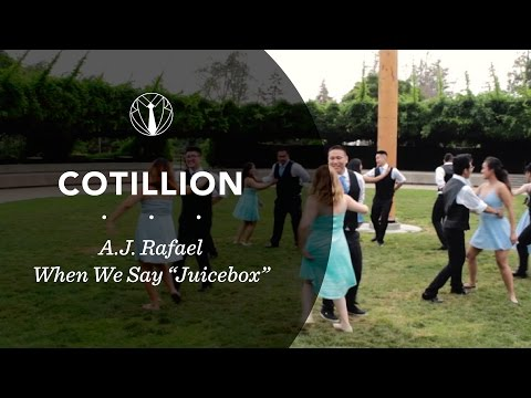 Cotillion Waltz | When We Say (Juicebox)- AJ Rafael