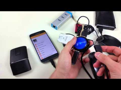 Samsung Galaxy S7 OTG TEST On The Go - Podłączanie Urządzeń USB Do Smartfona