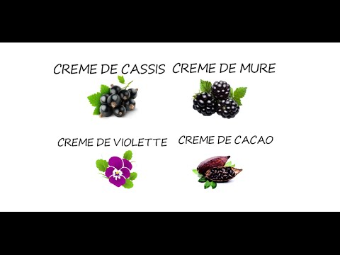 What Are The Differences Between Creme Liqueurs?