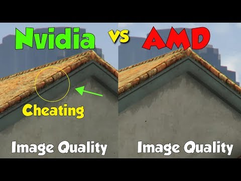 AMD Vs NVIDIA Image Quality, 4k Comparison