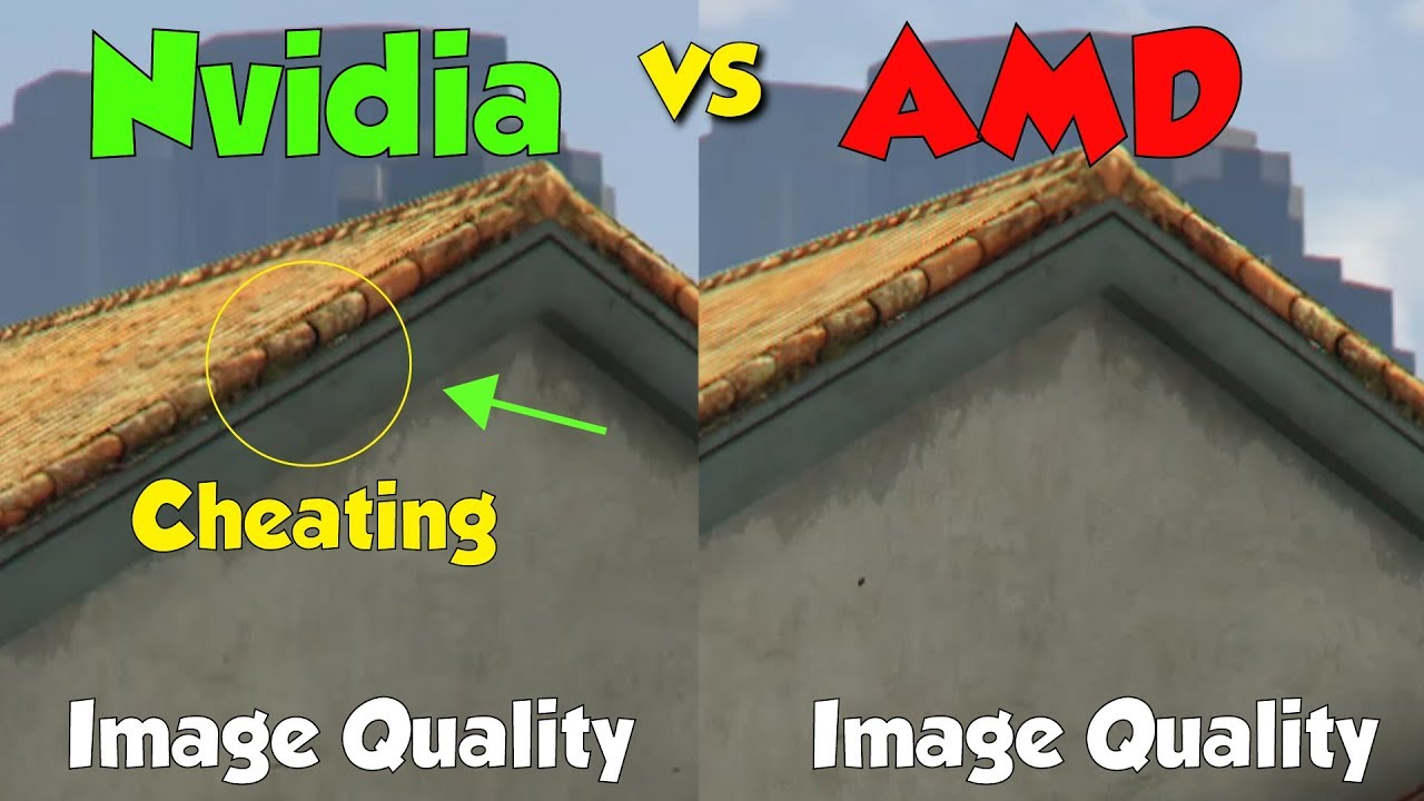 Amd Vs Nvidia Image Quality 4k Comparison Youtube