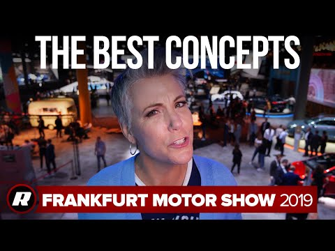 Four concept cars from the 2019 Frankfurt Motor Show