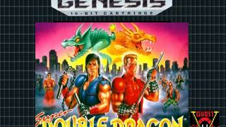 Super Double Dragon - Mission 4 - SEGA GENESIS COVER