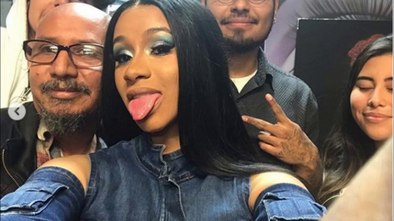 Cardi B Piercing: Cardi B Gets Bottom Lip Pierced In L.A. [PICS]