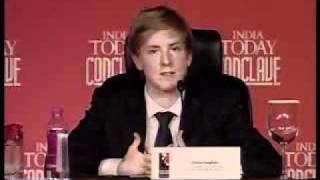 Chris Hughes - India Today Conclave 2010 - Session Social Networking - Part3