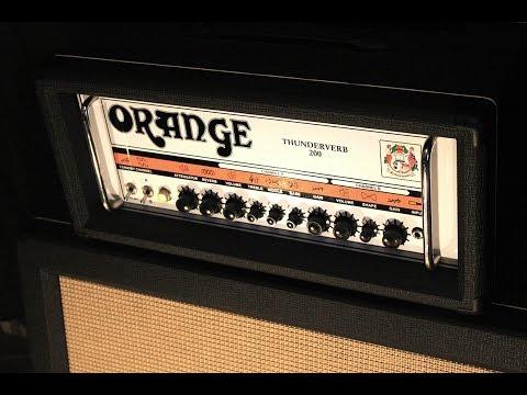 Orange Thunderverb 200 demo - Josh Middleton of Sylosis