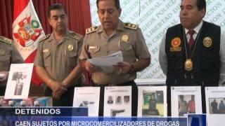 DETIENEN A  MICROCOMERCIALIZADORES  DE DROGAS - Antena Norte Noticias