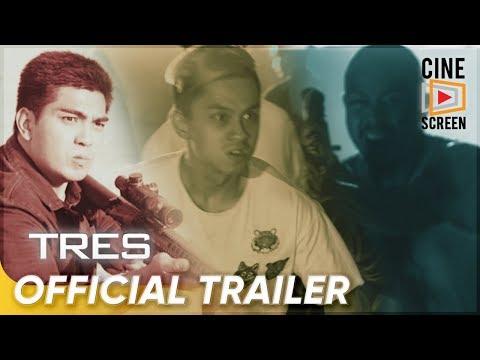 Official Trailer | 'TRES' | Ramon 'Jolo' Revilla, Bryan Revilla, Luigi Revilla