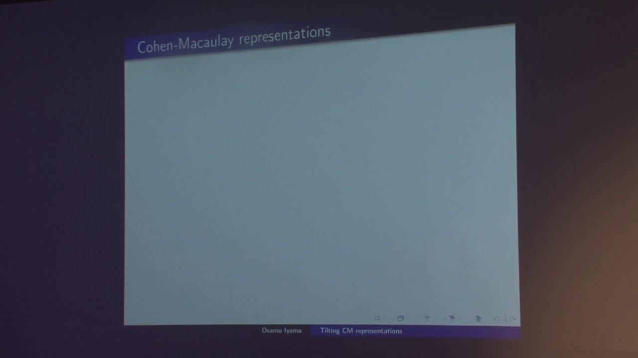 Cohen-Macaulay representations