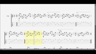 Cầu vòng khuyết  Sáng tác: Minh Khang (Em) guitar solo tab by  D U Y