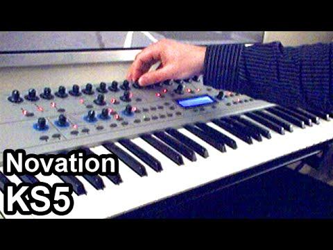 Synth Demo - Novation KS4 / KS5 - Ambient Arpeggiator Synthesizer Music