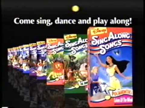 Disney Sing Along Songs Vhs Promo Disney Sing Along Songs 1986