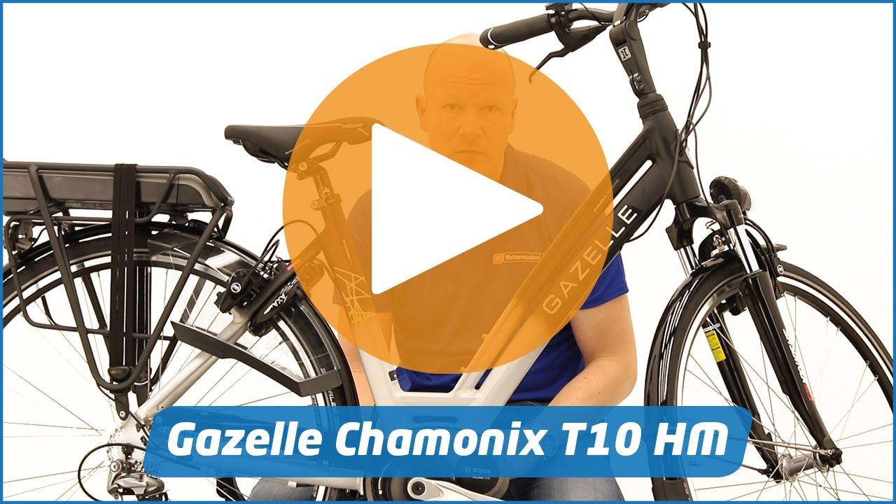 8d74503cb5d Gazelle Chamonix T10 Hybrid M | E-bike - YouTube