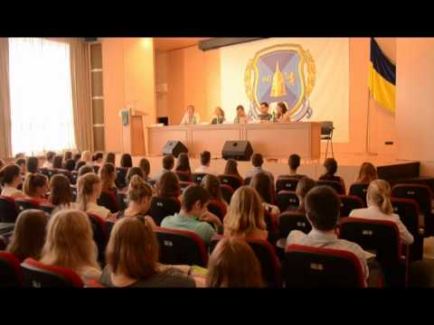 Пресс-конференция на факультете журналистики