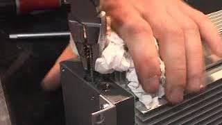 Ремонт гідравлічних шлагбауми FAAC. Заміна клапана стопового
