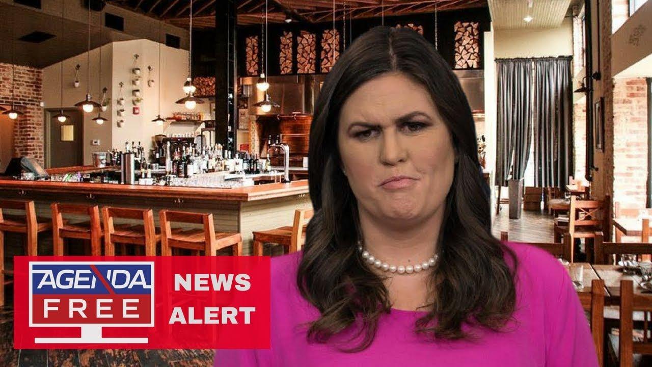Sarah Sanders asked to leave Red Hen restaurant for her political affiliation