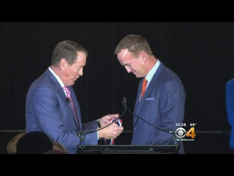 Peyton Manning Inducted Into Colorado Sports Hall Of Fame