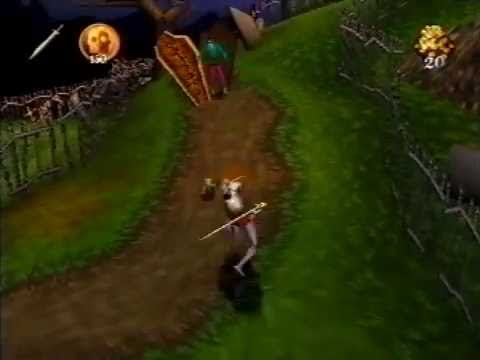 Medievil Ps1 The Graveyard Youtube