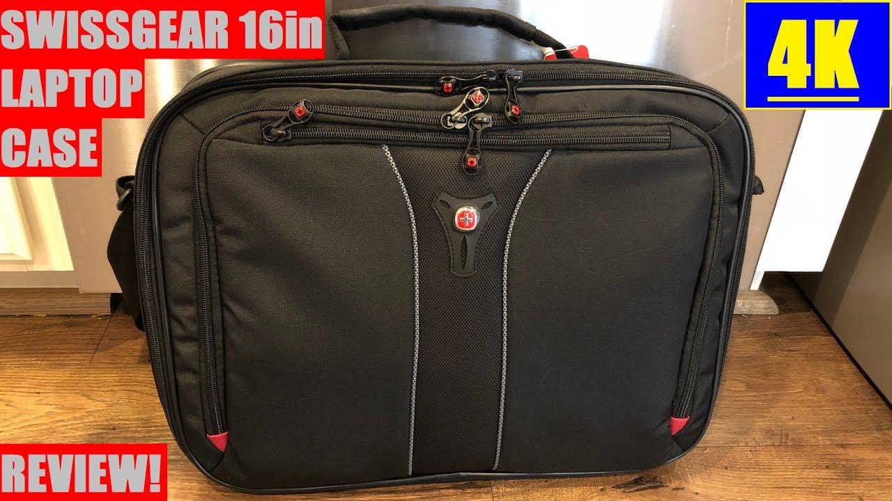 5340ce199 SwissGear Jasper Laptop Case 16 Inch Review 4K - YouTube