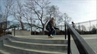 Josh Doing Stuff At The Skate Park