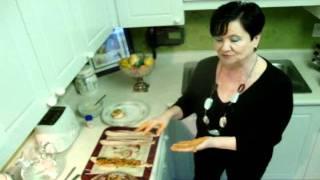 Pork Roll With Easy Mushroom Sauce