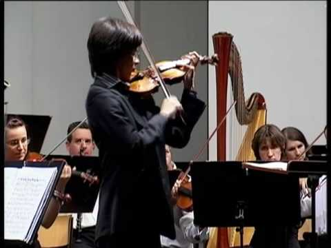 Aylen Pritchin | Brahms Violin Concerto in D major | 1st movement | Part 2 | Sion Festival 2009
