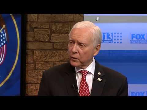 Senator Orrin Hatch on 3 Questions with Bob Evans