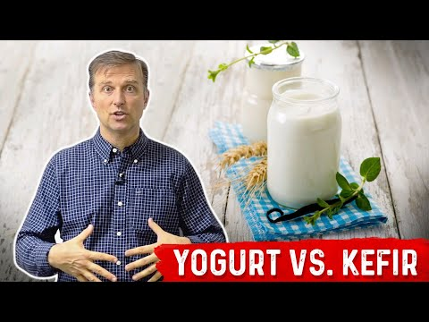 An Interesting Difference Between Yogurt vs. Kefir