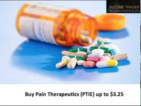 Income Trader Alert Pain Therapeutics PTIE YouTube – Income Trader