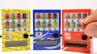Miniature Vending Machine Collection
