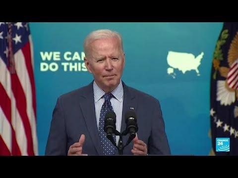 Les réformes de Joe Biden toujours bloquées au Congrès • FRANCE 24