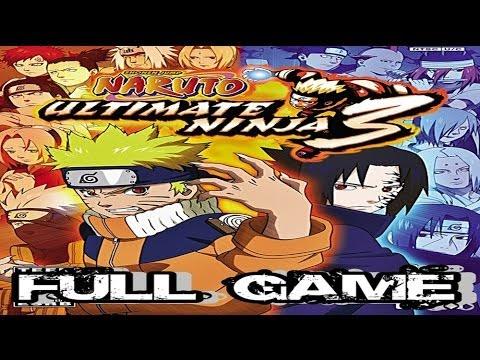 Naruto Ultimate Ninja 3 - [Historia Heroe] » Full Game « Español