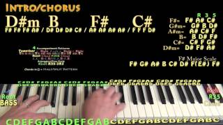 Download Faded (Alan Walker) Piano Lesson Chord Chart Mp3